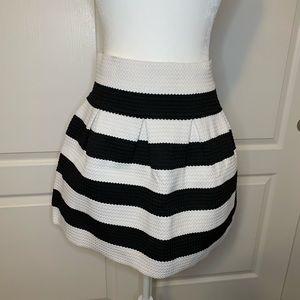 Neslay Design Anthro Brand Pleated Bandage Skirt
